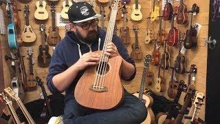 The Ukulele Bass Video - 12 Ukulele Basses Compared and Explained