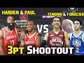 Watch What Happened When Tenorio and Fonancier Competed with Harden and Paul