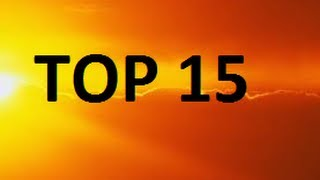 Top 15 - Highest Temperatures Ever Recorded On Earth