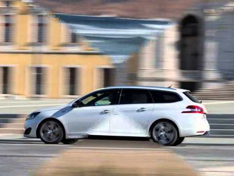 All New 2015 Peugeot 308 Sw Gt White Exterior Design Youtube