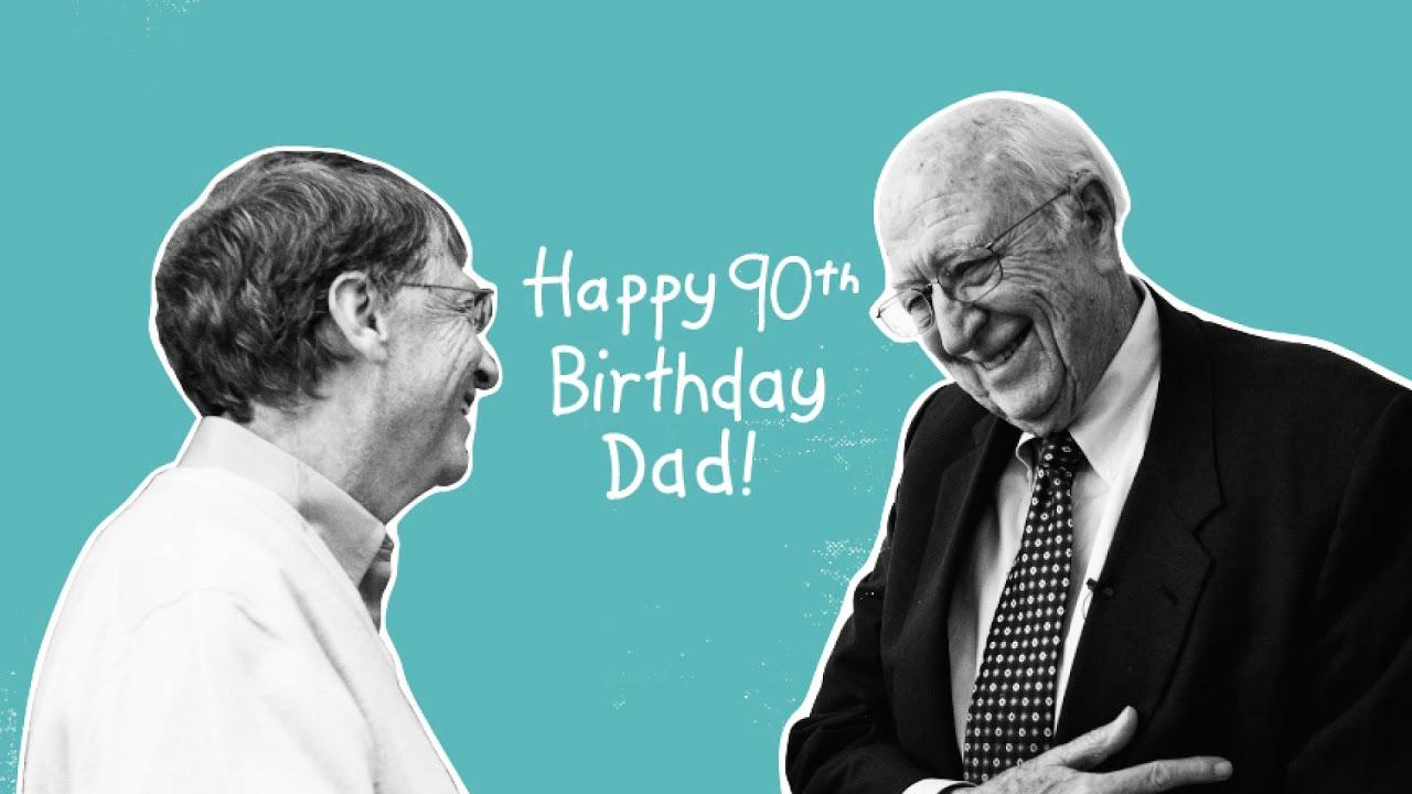 Celebrating My Fathers 90th Birthday