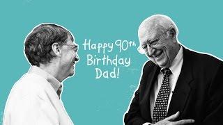 Celebrating my father's 90th birthday