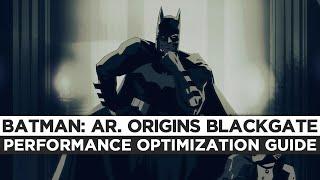 Batman: Arkham Origins Blackgate - How to Reduce Lag and Boost & Improve Performance