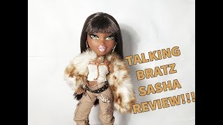 BRATZ TALKING BRATZ SASHA 2006 REVIEW