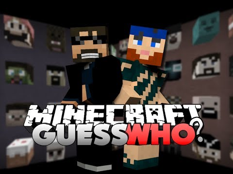 Minecraft GUESS WHO MINI GAME - DON'T YOU CHEAT ME!
