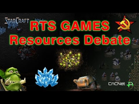 RTS Games   Resources Debate