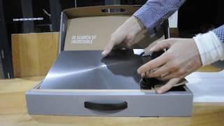 Ноутбук ASUS модель серії UX430UA анбоксинг