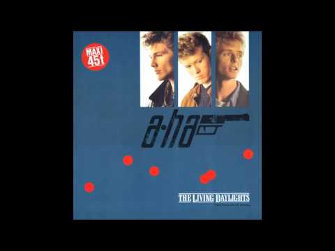 "A-Ha -  The Living Daylights (German Extended 12"")"
