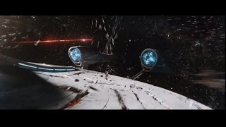 Star Trek Beyond Enterprise Destroyed Scene (2016)