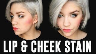 Benefit Lip & Cheek Stain Tutorial