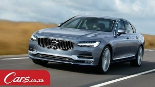 First Test Drive - Volvo S90 World Launch