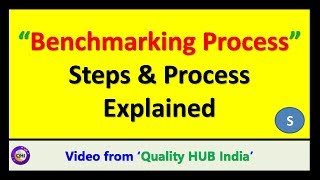 Benchmarking Process – Steps explained in detail