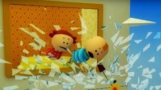 Аркадий Паровозов спешит на помощь - Почему опасно залезать на подоконник - мультфильм детям.