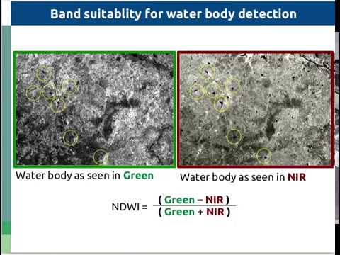 Videos, Water body extraction, NDWI, Remote Sensing