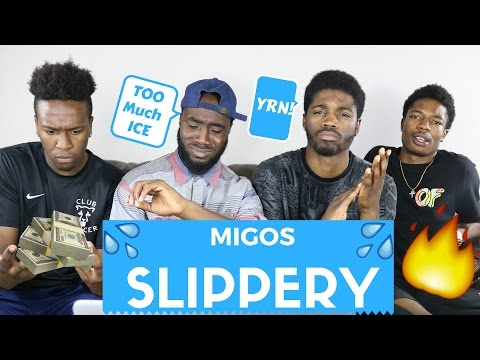 Migos ft Gucci Mane - Slippery|Official Reaction