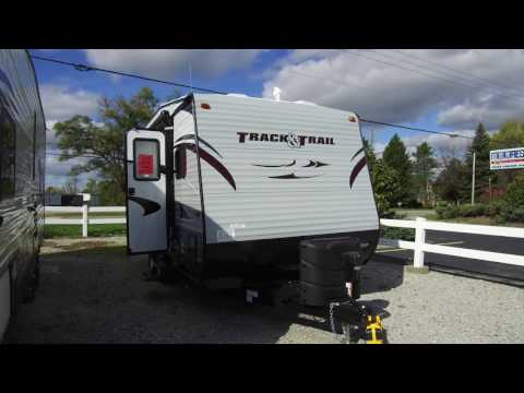 2017 Gulf Stream Track & Trail 17RTHSE Toy Hauler Travel Trailer Video