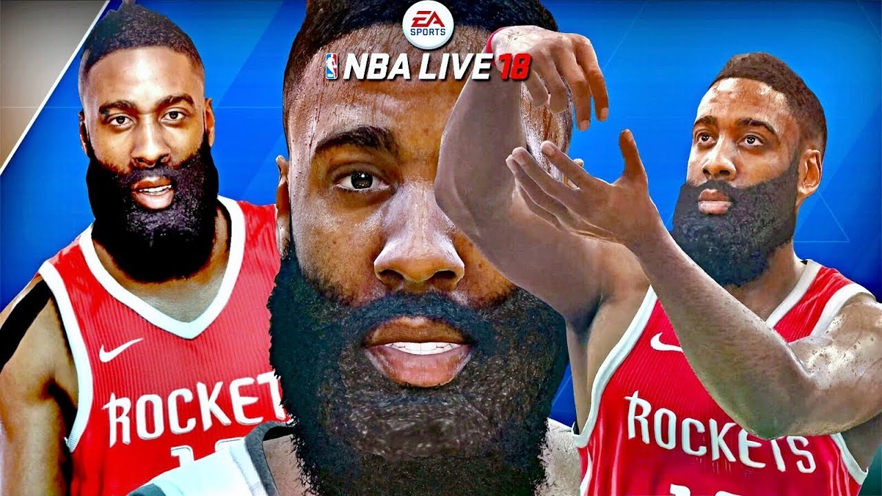 e7a845d08ba NBA LIVE 18 OFFICIAL JAMES HARDEN COVER   NIKE JERSEY REVEAL🔥+ EXCLUSIVE  HARDEN FULL GAMEPLAY!