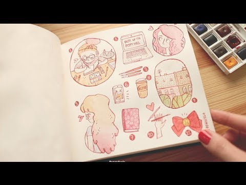 The story behind my illustration style (sort of) ~ Frannerd