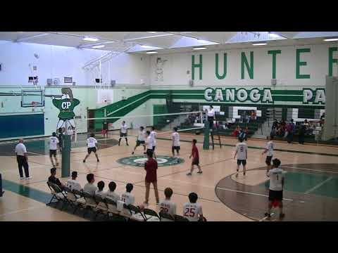 Boys Volleyball: Van Nuys vs. Canoga Park (2018)