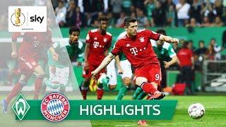 Strittiger Elfer entscheidet Pokal-Krimi | SV Werder - FC Bayern 2:3 | Highlights - DFB-Pokal 18/19