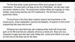 Prisoners of the Dulce Base by Sherry Shrine
