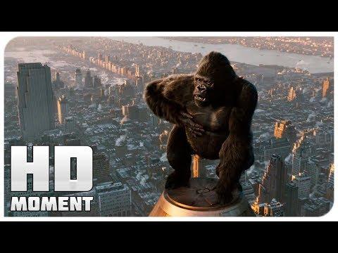 Конг против самолетов - Кинг Конг (2005) - Момент из фильма