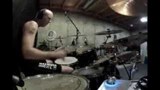 Gamberg Vs Bourne - Bourne Legacy Theme (With Drums)