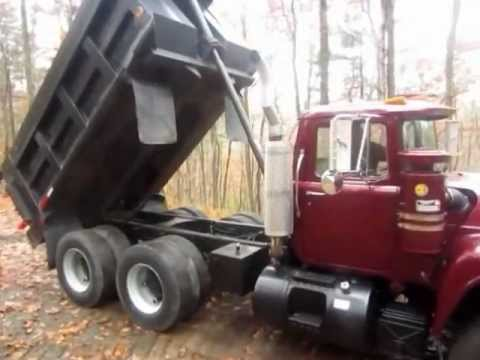 Mack R Model Tandem Axle Dump For Sale Ironmartonline