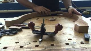 Using A Router Plane To Fine-tune A Bridle Joint