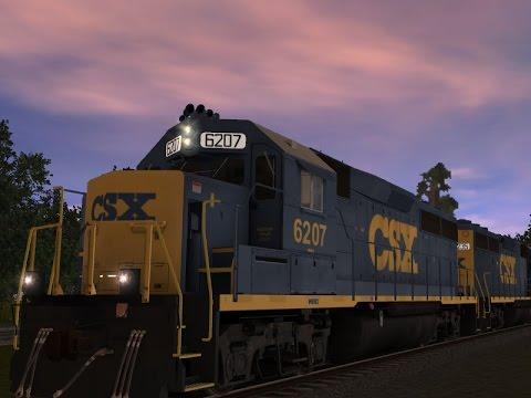 Trainz 12 : CSX GP40 |
