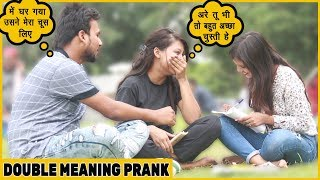 Funny Double Meaning Love Letter Prank On Cute Girls| Funky Joker