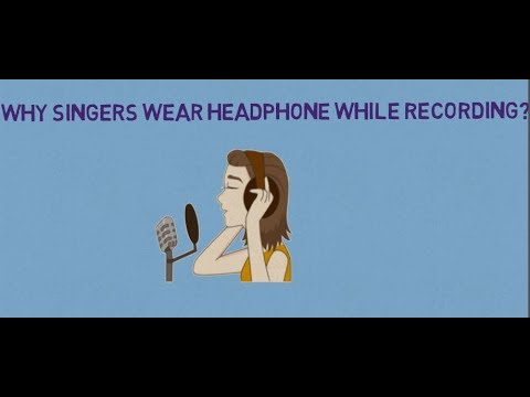Interesting Facts | General Knowledge | GK Test | Why Singers Wear Headphone While Singing