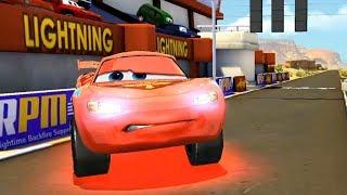 Lightning McQueen Crashes Vs Shu Todoroki & Francesco Disney Cars Race Game