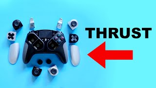 the Thrust Master PS4 controller