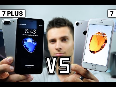 iPhone 7 vs 7 Plus - Which Should You Buy?
