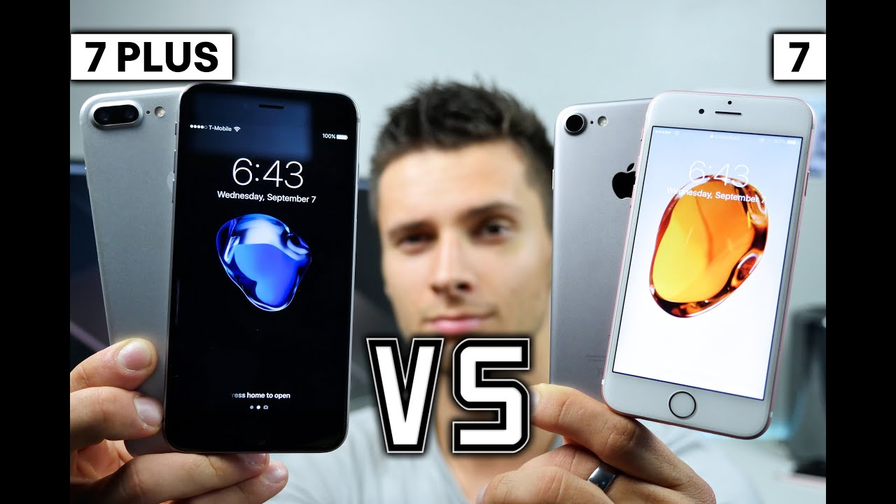 iPhone 7 vs 7 Plus - Which Sho...