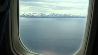 Longyearbyen airport (Svalbard), landing 9th July 2011