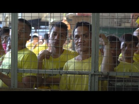 Inside the Quezon City jail: One of the Philippines' most crowded jails