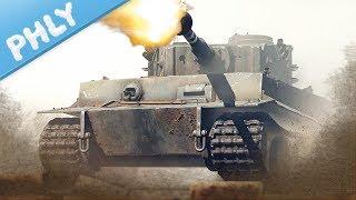BATTLE OF KURSK - Tiger Sniping! (War Thunder Tanks Gameplay)