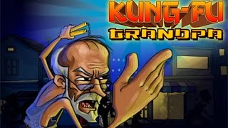 Kung fu Grandpa • Gameplay by Mopixie.com