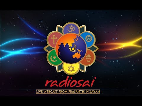 Music Program by Prasanthi Bhajan Group on the eve of Aradhana Day of Sri Sathya Sai - 23 Apr 2018