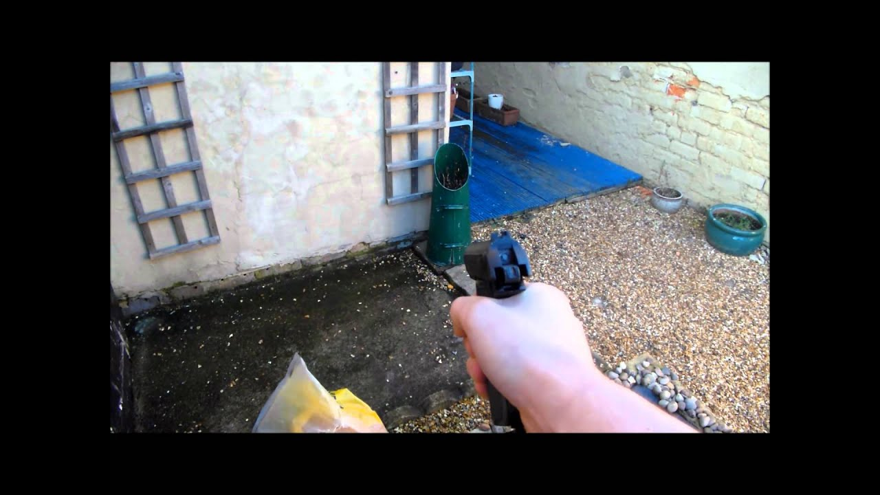 Umarex Walther PPK fully automatic Co2