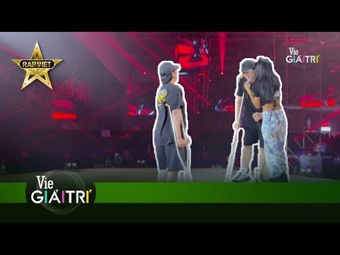 Đây chính là hình ảnh trước giờ G của Concert mà không ai muốn bỏ lỡ  Live Concert Rap Việt All-Star