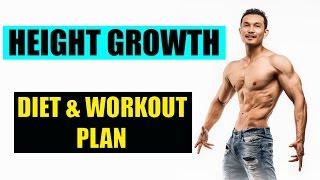 INCREASE HEIGHT- DIET & WORKOUT(Height बढ़ाने की इंडियन डाइट और वर्कआउट प्लान)