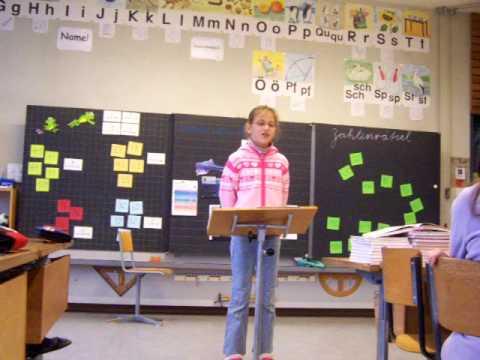 Diana Vortrag in der Schule