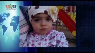 Похищена двухлетняя девочка