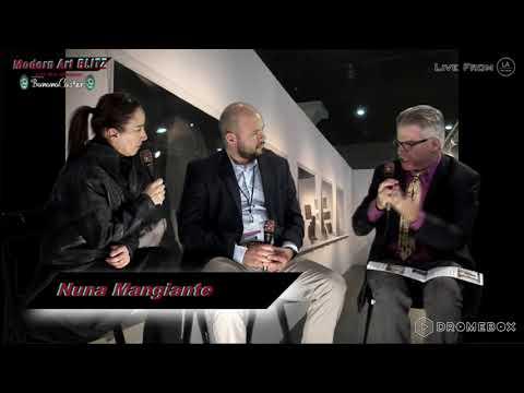 NUNA MANGIANTE & EDWARD HAYES JR. - Modern Art Blitz episode #95 part 8