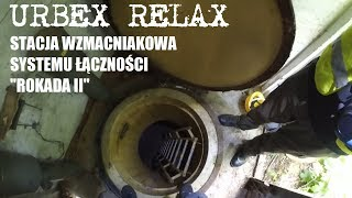 Stacja wzmacniakowa systemu łączności Rokada II - Urbex Relax
