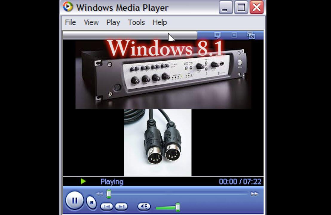 Selecting an external midi synth or Midi output -Windows 8 1