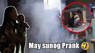 """May Sunog Prank """"Don't try this at home"""""""